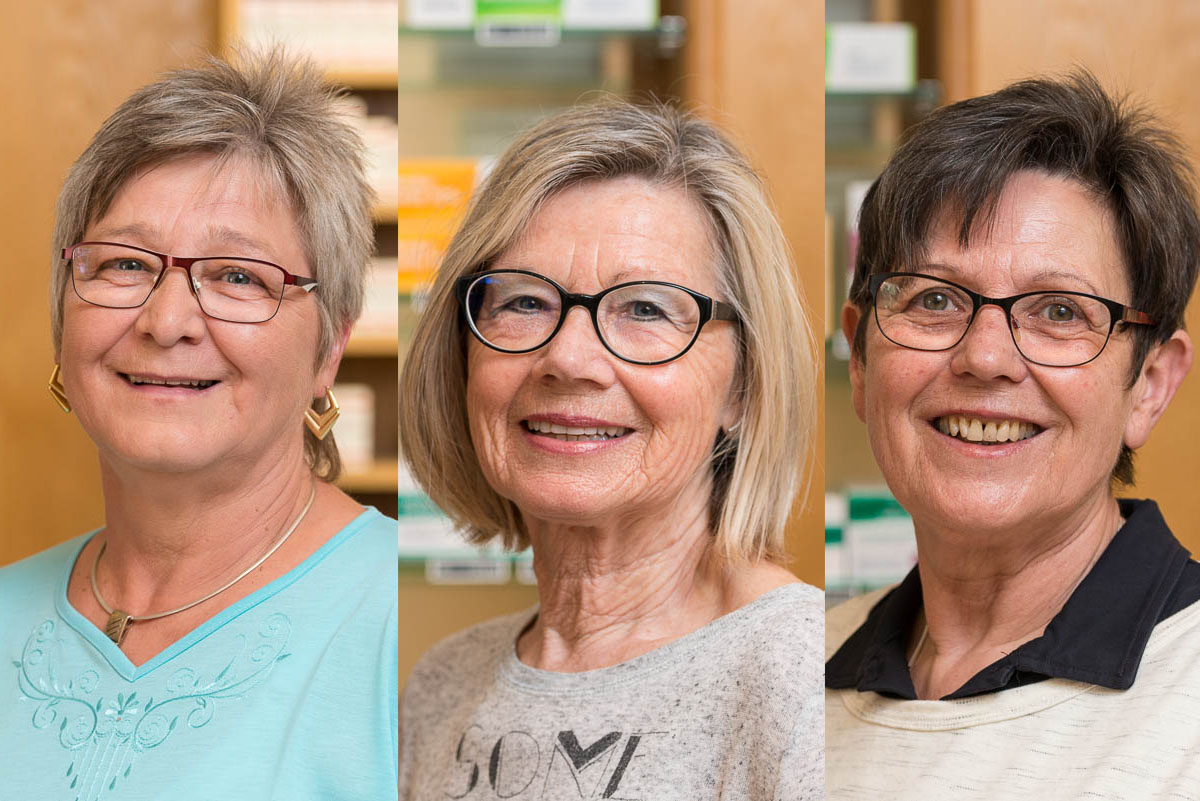 Ilona Janosovski, Rosemarie Koller, Renate Miersch